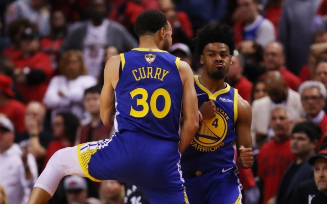 Warriors vence de último minuto en segunda final ante Raptors - Golden State Warriors partido 2 NBA