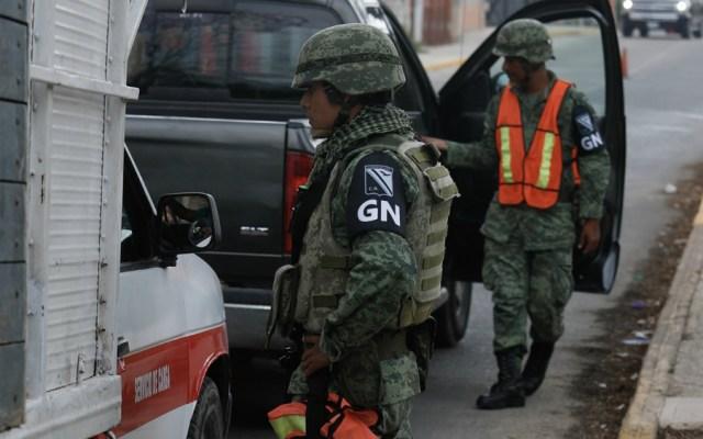 Guardia Nacional ya realiza labores en Oaxaca - Foto de Notimex