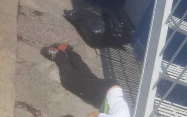 Aseguran 50 kilos de mariguana donde mataron a hombre en Tepito - Hombre asesinado en Tepito. Foto de Especial