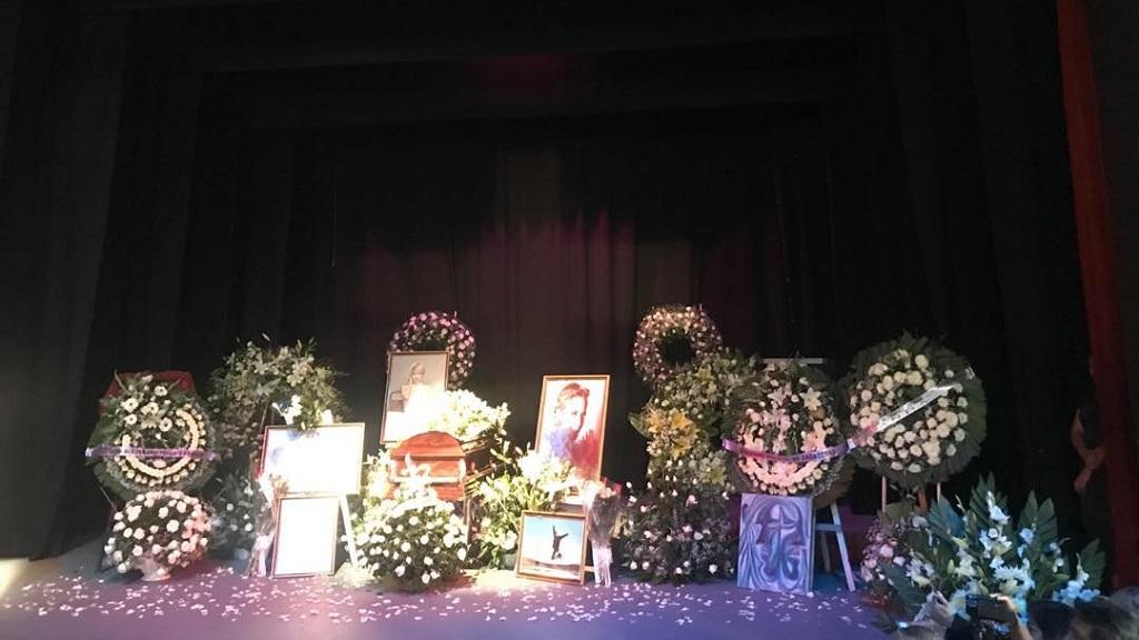 Homenaje a Edith González. Foto de @laurazapataoficial