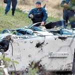 Piloto de helicóptero desplomado en Edomex presentaba impacto de bala: FGJEM