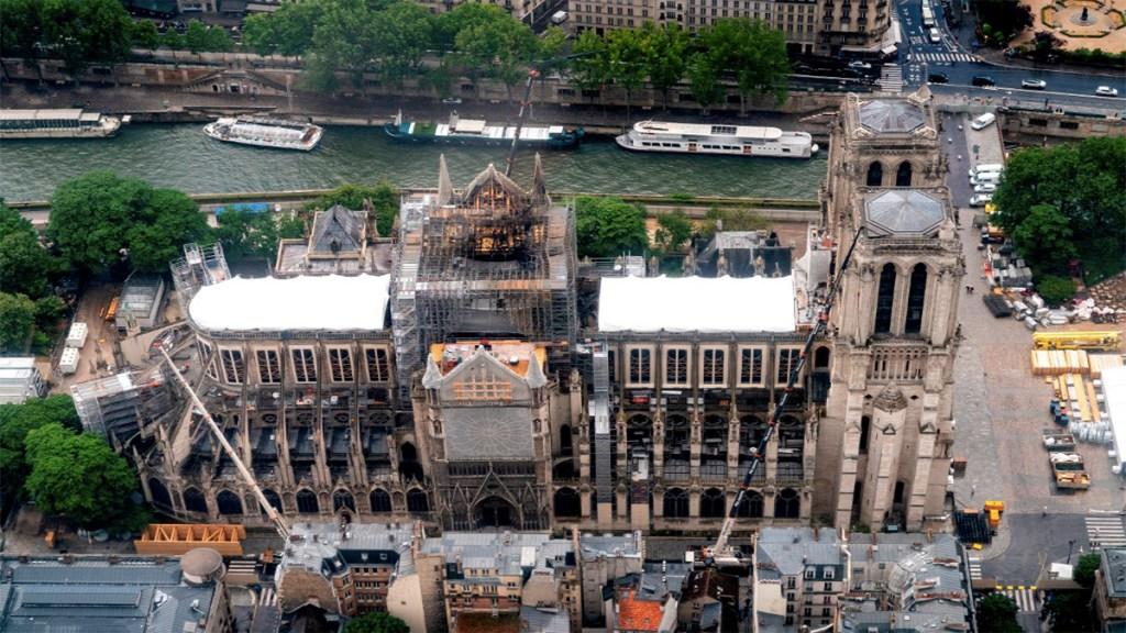 Descartan que incendio en Notre Dame tenga origen criminal. Noticias en tiempo real