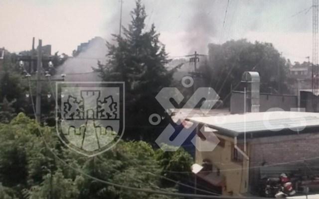 #Video Se incendia distribuidora de carnes en la Miguel Hidalgo - Incendio en distribuidora de carnes de la Miguel Hidalgo, CDMX. Foto de @C5_CDMX