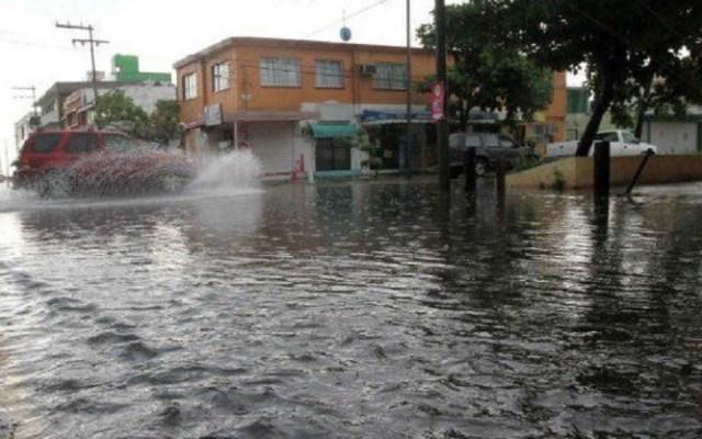 Desaparece mujer tras caer a río por fuertes lluvias en Tlaxcala - Inundaciones por lluvias en Tlaxcala. Foto de @ABC_NEWS_TLX