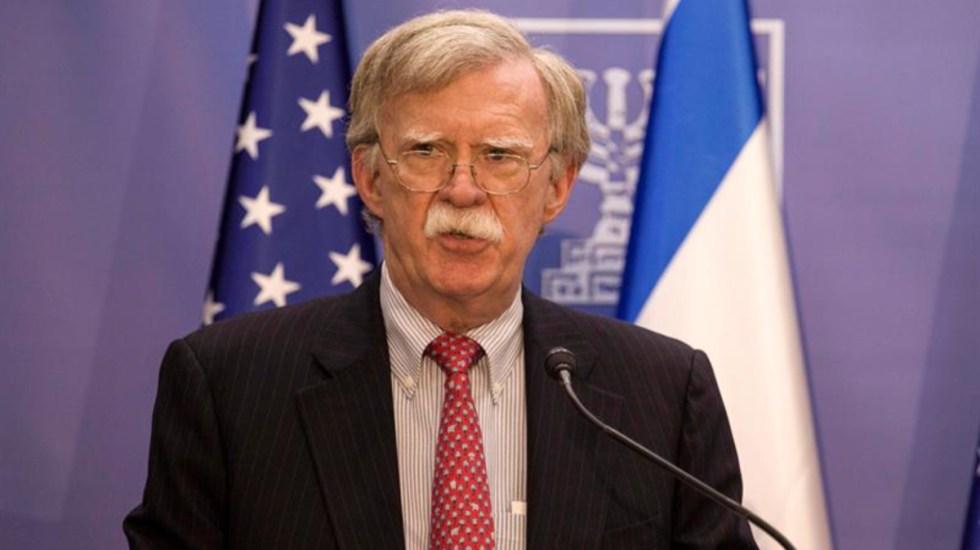 Casa Blanca envía carta a Bolton para evitar publicación de su libro - Bolton amenaza a Irán