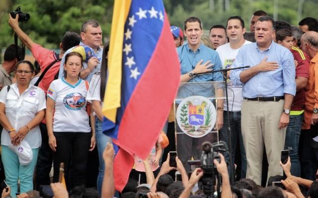 """Guaidó asegura que el gobierno de Maduro """"está derrotado"""" - Foto de @jguaido"""