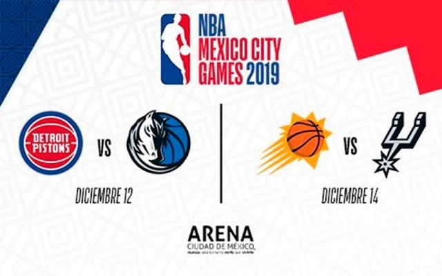 México tendrá dos partidos de la NBA en diciembre - juegos nba ciudad de México