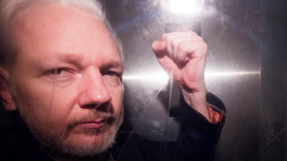 Jueza británica deniega la libertad condicional a Assange por riesgo de fuga - Foto de EFE