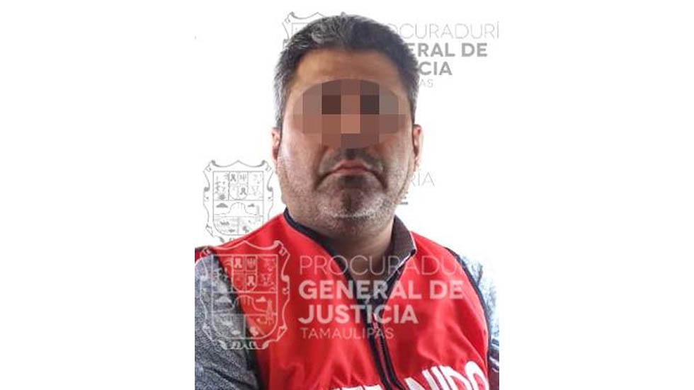 Detienen en Morelos a 'La Perra', presunto secuestrador - Foto de PGJ Tamaulipas