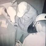 #Video Captan a sujetos robando en fábrica de la Cuauhtémoc - ladrones