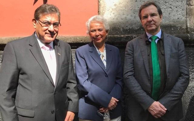 SNTE reconoce que libertad de expresión fortalece a la democracia - Líder del SNTE, Alfonso Cepeda Salas, en conmemoración del Día de la Libertad de Expresión. Foto de @SnteNacional