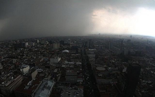Cuatro alcaldías amanecen con lluvia en la Ciudad de México - Lluvia