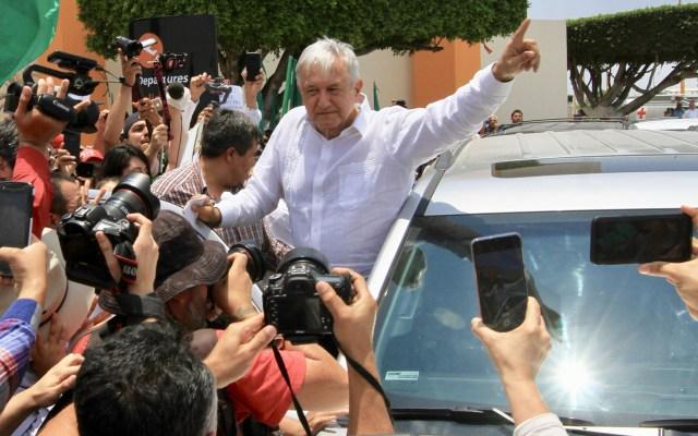 Acuerdo con EE.UU. devuelve confianza y tranquilidad a México: AMLO - AMLO a su llegada a Los Mochis, Sinaloa. Foto de Notimex