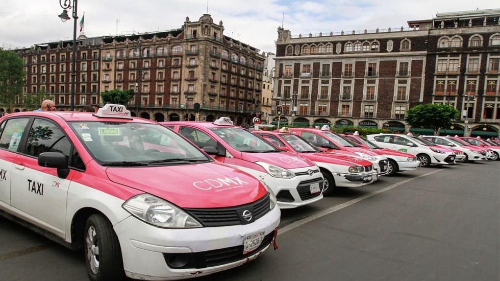 La app para aumentar seguridad en taxis de la Ciudad de México - Foto de Notimex/Jessica Espinosa