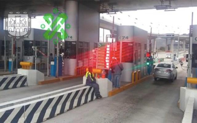Manifestantes liberan la caseta de la autopista México-Cuernavaca - manifestantes caseta autopista méxico-cuernavaca