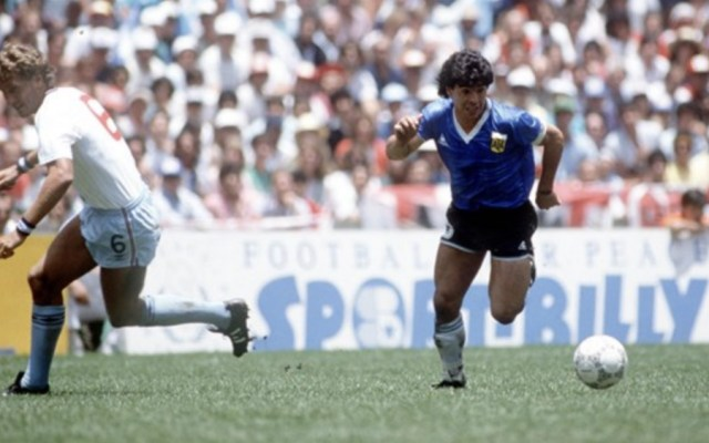 Maradona recuerda histórico doblete ante Inglaterra en México 1986 - Maradona Inglaterra