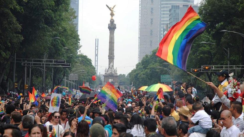 Marcha del orgullo gay de la CDMX tiene su origen en Nueva York - Marcha del orgullo gay en la CDMX. Foto de @MarchaLGBTCDMX / Archivo