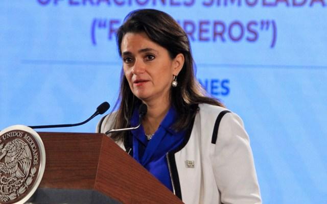 SAT detecta 8 mil empresas que han generado facturas falsas por 1.6 billones de pesos - Margarita Ríos-Farjat SAT