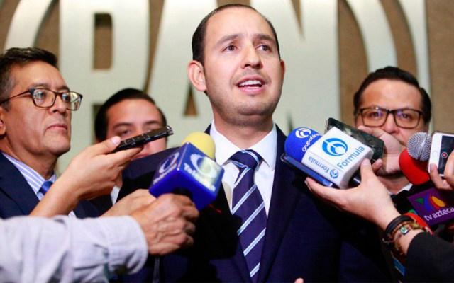 Desalentadores, resultados en empleo y seguridad: Marko Cortés - Marko Cortés, líder nacional del PAN. Foto de pan.org.mx.