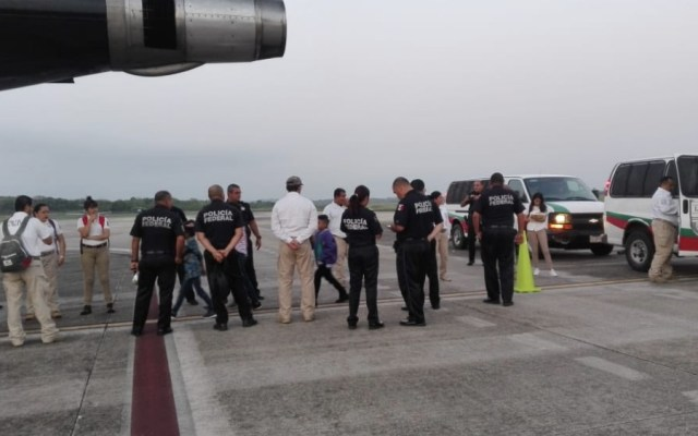Migración retornó a 209 migrantes hondureños a su país - inm récord deportaciones