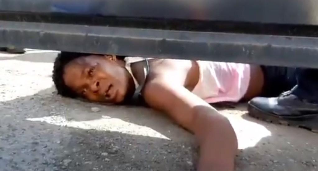 #Video Haitiana clama por ayuda desde albergue migratorio. Noticias en tiempo real