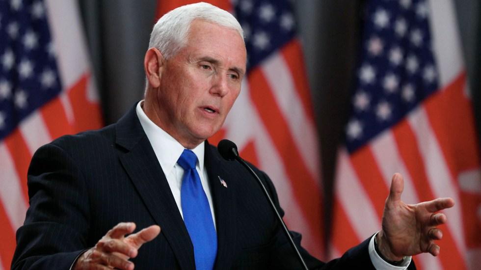 Congreso de Estados Unidos debe ratificar el T-MEC: Mike Pence - Mike Pence