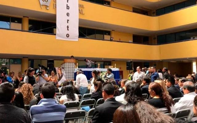 Universidad del Pedregal despide a Norberto Ronquillo - misa Norberto Ronquillo