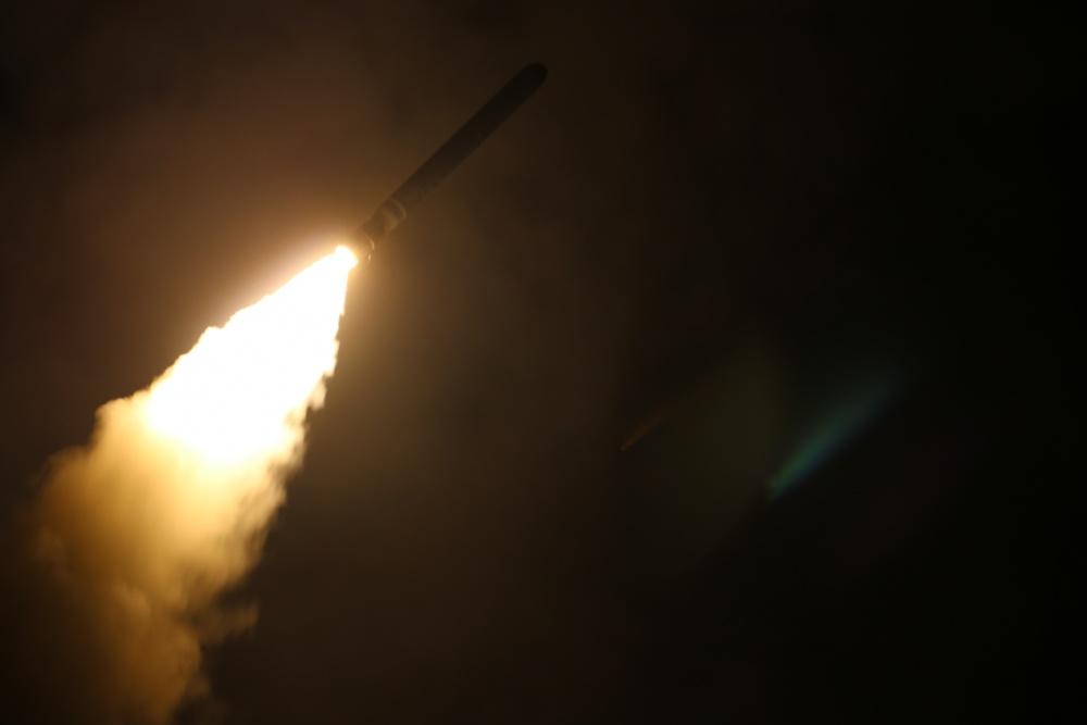 Siria confronta ataque con misiles contra base militar - Misil, archivo. Foto de  Kallysta Castillo para DVIDS