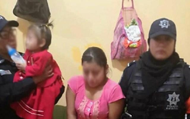 Niña maltratada por su mamá en Guerrero tiene esguince cervical - Mujer detenida tras maltratar a su hija en Guerrero. Foto de @sspguerrero