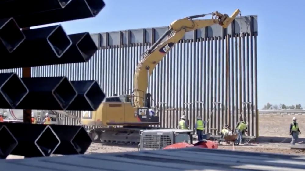 Estamos construyendo un montón de muro: Trump. Noticias en tiempo real