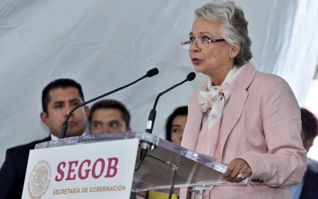 """Ni perdón ni olvido por """"Halconazo"""": gobierno - Foto de Twitter Secretaría de Gobernación"""