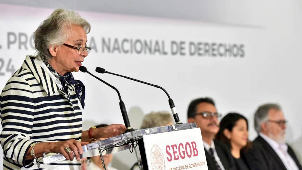No sé por dónde pasaron 144 mil migrantes: Sánchez Cordero. Noticias en tiempo real