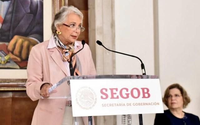 Sánchez Cordero descarta seguridad especial para acto de AMLO en Tijuana - Olga Sánchez Cordero Tijuana