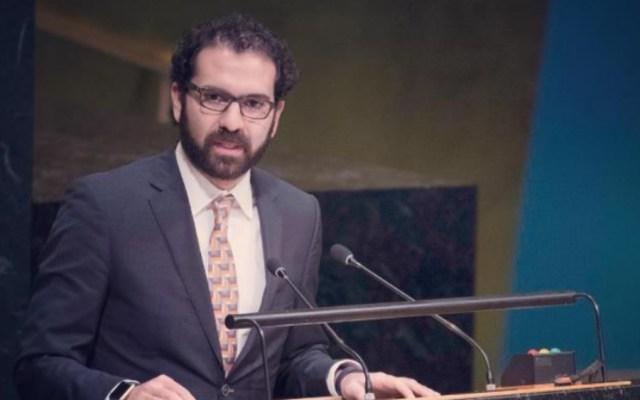 Eligen a Pablo Arrocha como vicepresidente de Comisión de Asamblea General de la ONU - Foto de Misión de México ante la ONU