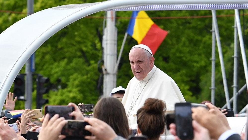 El papa Francisco elogia diversidad de Rumania - papa francisco rumania