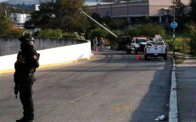 Choque de patrulla deja cuatro policías heridos - Foto de Quadratín.