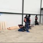 Cae una red que transportaba hachís en estructuras de madera