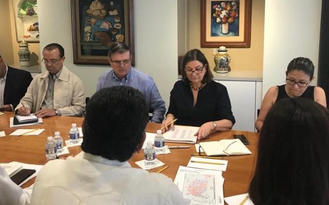 Se va a llegar a un acuerdo antes del 10 de junio con EE.UU.: AMLO - Preparación de argumentos para cumbre con EE.UU. Foto de @Martha_Barcena