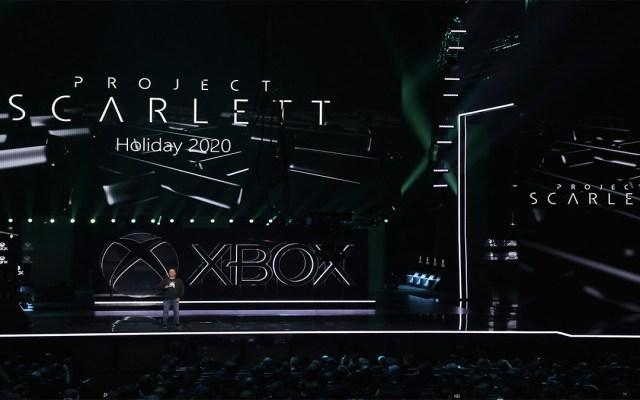 """Microsoft presenta """"Project Scarlett"""", su próxima versión de Xbox - Foto de Christian Petersen/Getty/AFP"""