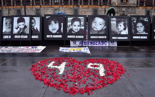 Padres de víctimas de la Guardería ABC cancelan marcha de aniversario por COVID-19 - Protesta a 10 años del incendio de la Guardería ABC. Foto de Notimex