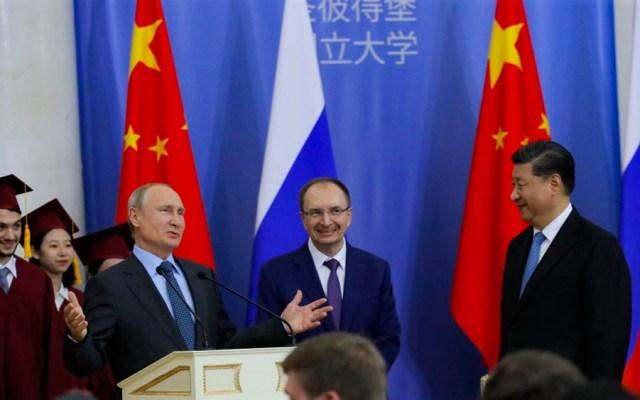 Putin defiende mayor presencia de compañías chinas en Rusia - putin jingpin
