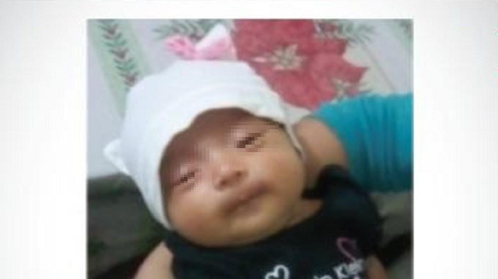 Encuentran a la bebé robada en registro civil de Naucalpan - Bebé robada en registro civil del Edomex. Foto de @AmberEdomex