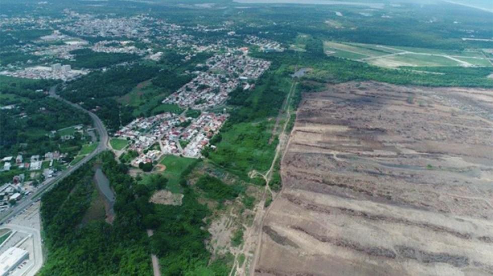 Dos Bocas presenta riesgo de inundación - refinería dos bocas inundación