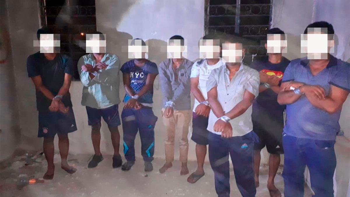 Liberan a ocho migrantes de Bangladesh secuestrados en Tamaulipas