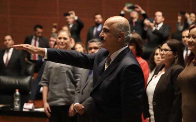 Ratifican a Ricardo Ahued como administrador de Aduanas del SAT - Foto de @CanalCongreso