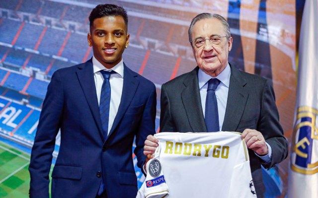 Real Madrid presenta a Rodrygo - Rodrygo