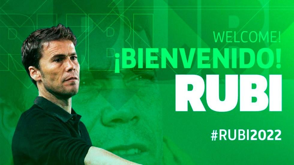 Rubi será entrenador del Betis hasta 2022 - rubi betis