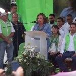 Sandra Torres asegura que Guatemala no está para más aventuras políticas - Foto de EFE
