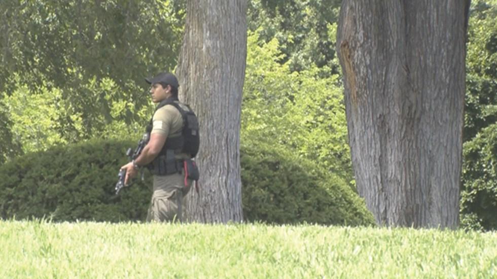 Cierran la Casa Blanca por paquete sospechoso - Foto de @markknoller