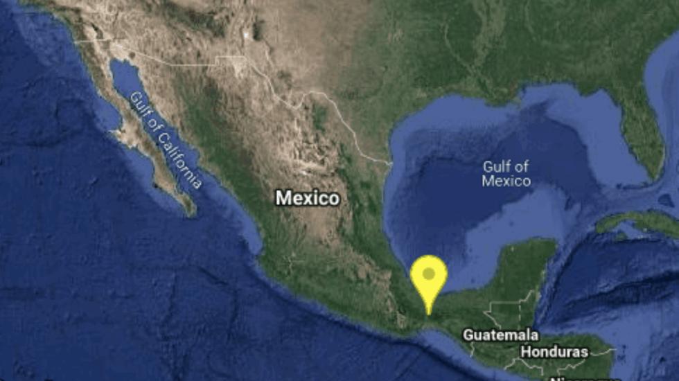 Sismo de 5.1 no causó daños en Oaxaca - Foto de SSN